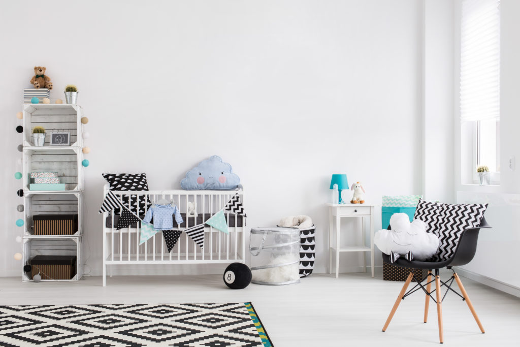 Safely Paint A Nursery For Your Baby