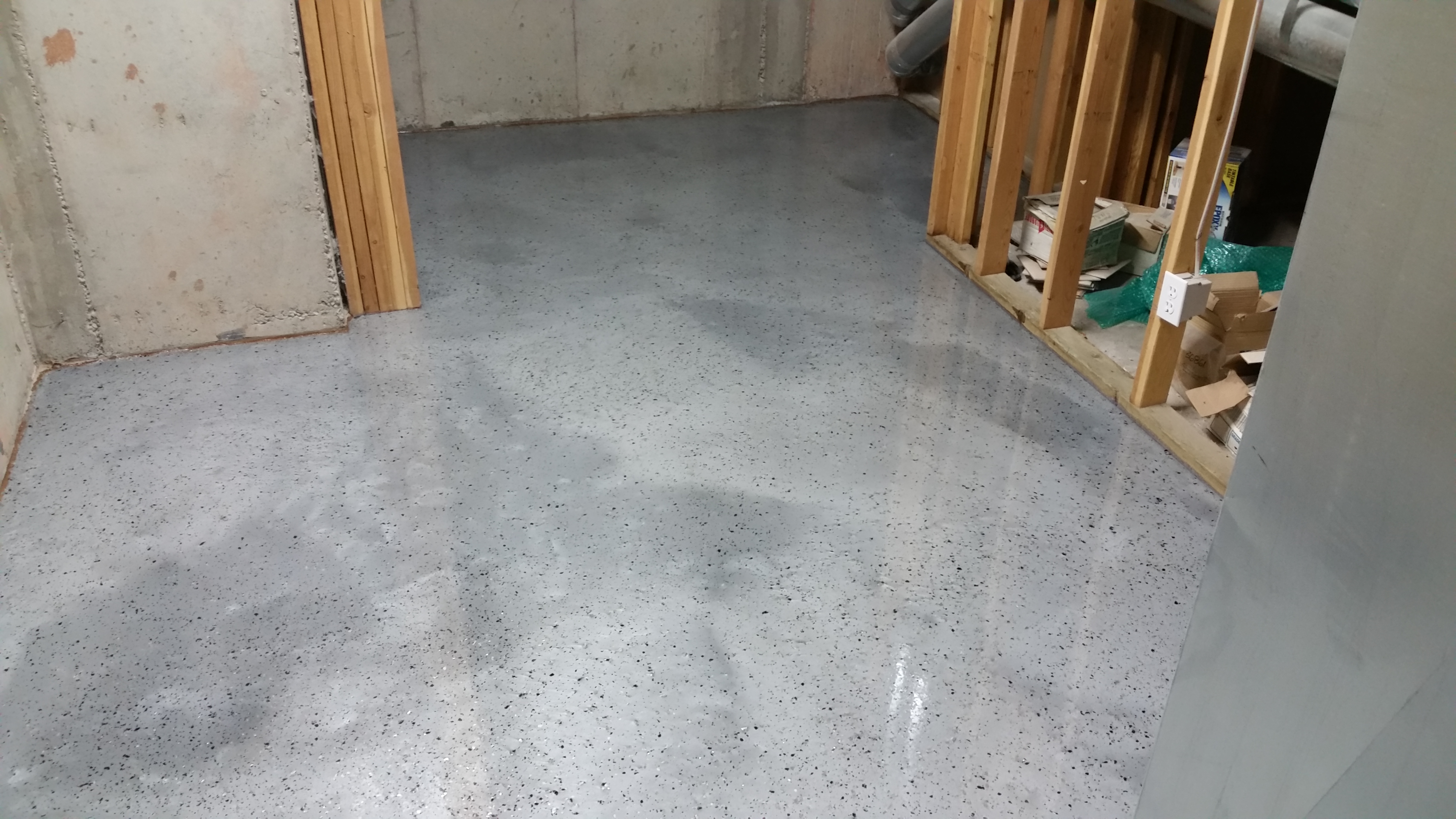 Residential floor coating professionals in colorado for Residential flooring