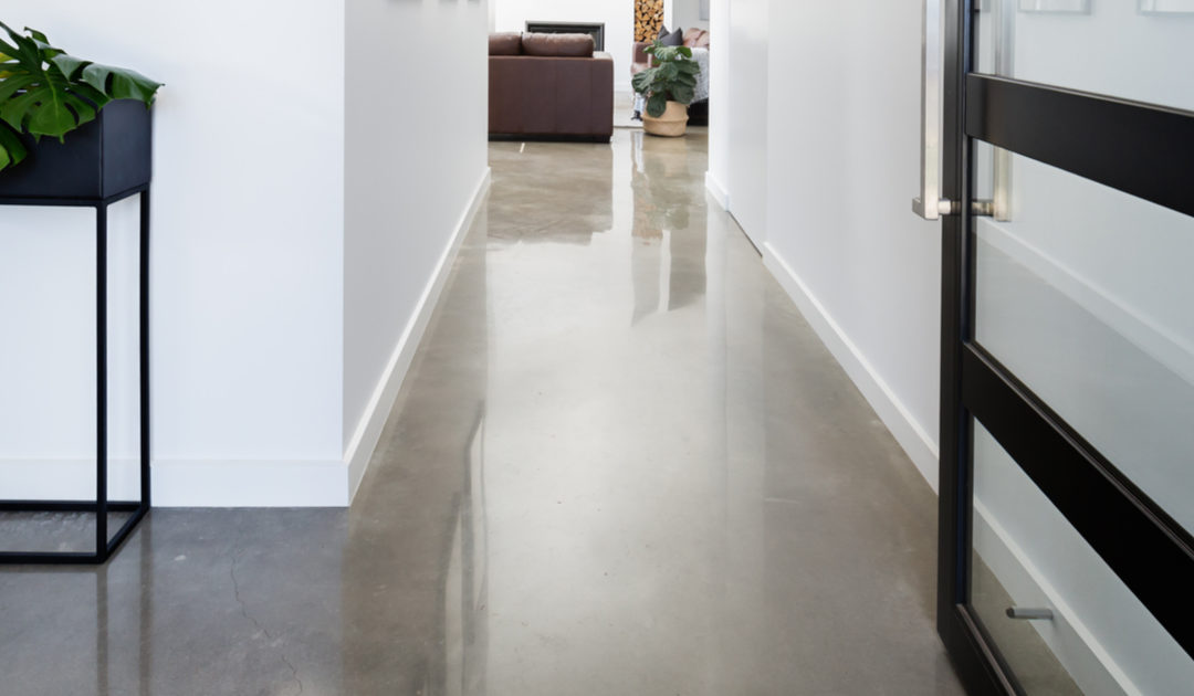 Polished Interior Concrete Floors Are