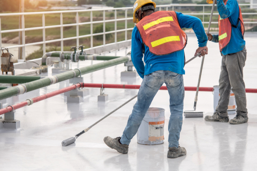Commercial Roof Coating in Denver